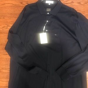 Long sleeve Fairway & Greene golf shirt